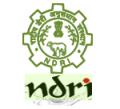 NDRI Recruitment– SRF,Research Assistant & Various (20 Vacancies) – Walk In Interview 24 October to 7 December 2016 (Karnal, Haryana)
