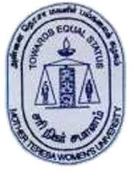 Mother Teresa Women's University - Logo