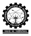 NIT Calicut Recruitment 2016– Project Staff (1 Vacancy) – Walk In Interview 29 September (Calicut, Kerala)