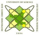 Deenbandhu Chhotu Ram University of Science and Technology (DCRUST)- logo