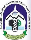 Baba Ghulam Shah Badshah University (BGSBU)- logo