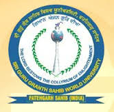 Sri Guru Granth Sahib World University (SGGSWU) - Logo