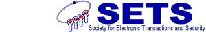 Society for Electronic Transactions and Security (SETS) -logo