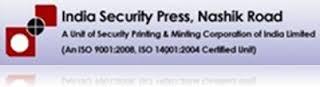 India Security Press Nashik (ISP Nashik) -logo