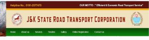 J & K State Road Transport Corporation (J&KSRTC)-logo